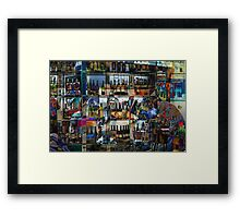 The Bar Framed Print