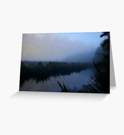 Mirror lakes Greeting Card