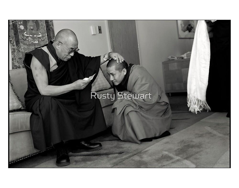 The Dalai Lama, Australia 2007. by Rusty Stewart
