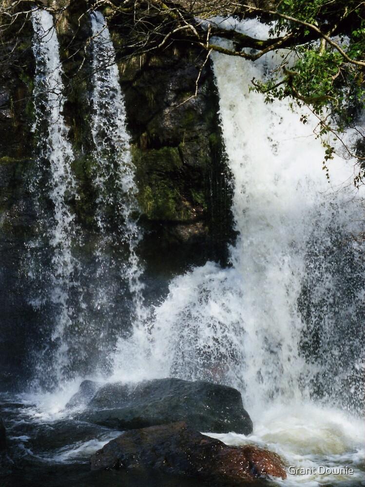 waterfall by Grant Downie