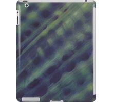 untitled purple and green bio organic  iPad Case/Skin