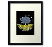 Starry Night Sky Framed Print