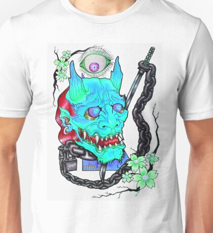 KEEPIN EM ON LOCK - BLU Unisex T-Shirt