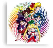 Sailor moon - Chibi Candy Edit. (White) Canvas Print
