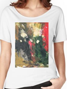 Giovanni Arnolfini and His Bride Women's Relaxed Fit T-Shirt
