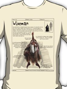 Practical Visitor's Guide to the Labyrinth - Wiseman T-Shirt