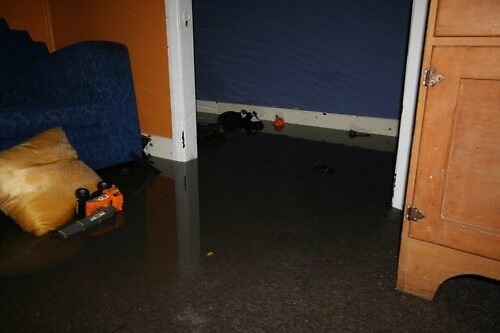 Loungeroom Flood by Mark Snelson