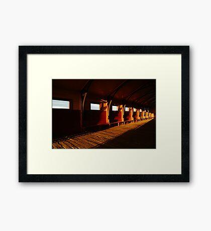 Queenscliff Pier Charm Framed Print