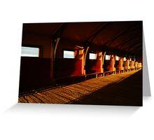 Queenscliff Pier Charm Greeting Card