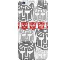 The Iconic Autobots (white) iPhone Case/Skin