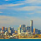 Melbourne Skyline by Neil