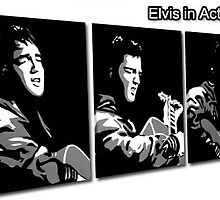 Elvis in Action by studiohans