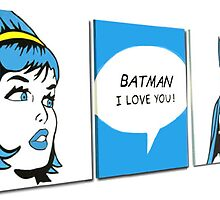 batman i love you by studiohans