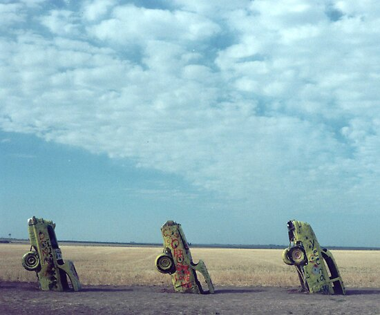 Cadillac Ranch by mkpshay