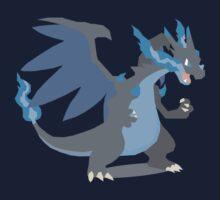 Charizard Mega Evolution - Pokemon X Kids Tee