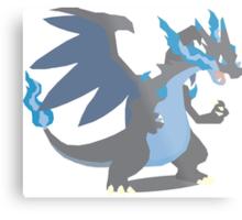 Charizard Mega Evolution - Pokemon X Metal Print