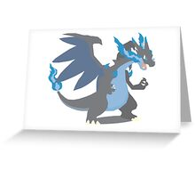 Charizard Mega Evolution - Pokemon X Greeting Card