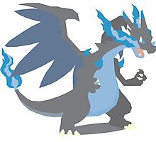 Charizard Mega Evolution - Pokemon X Photographic Print