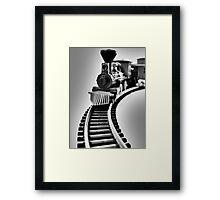 Fantasy Train Ride Framed Print