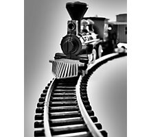 Fantasy Train Ride Photographic Print
