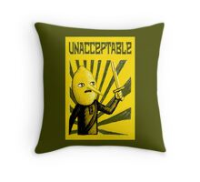 Unacceptable, 2014 Throw Pillow