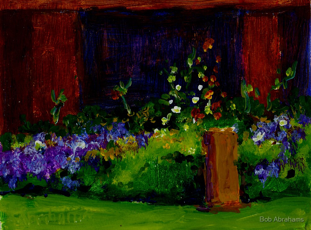 SPRING FLOWERS by Bob Abrahams