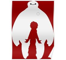 Baymax and Hiro (Big Hero 6) Poster