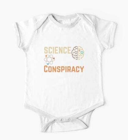 Science Is Not A Liberal Conspiracy  One Piece - Short Sleeve