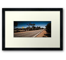 Road to Wyalkatchem: Part 3 Framed Print