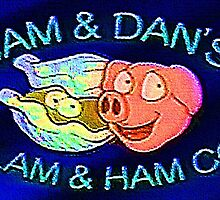 SAM AND DAN'S CLAM AND HAM CO. Dr. Steve Brule Design By SmashBam by SmashBam