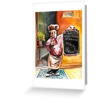 Welcome To Italy 02 Greeting Card