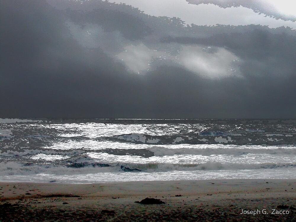 Spring Lake Beach 7 PM by Joseph G.  Zacco