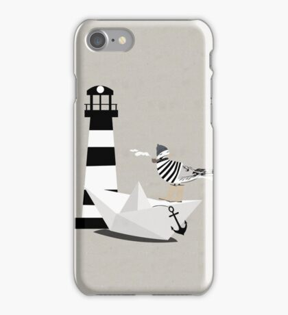 Fisher seagull iPhone Case/Skin