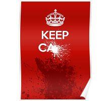 Keep Calm - Splat! Poster