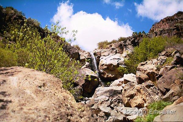 Waterfall by Jocelyn  Emswiler