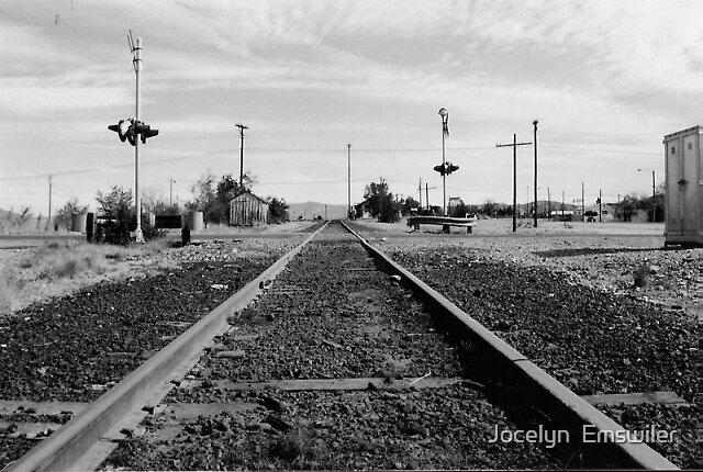 Railroad tracks by Jocelyn  Emswiler