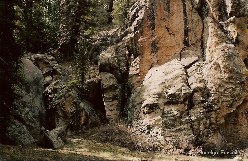 bottom of cliff by Jocelyn  Emswiler