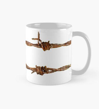 Rusty Barbed Wire Mug