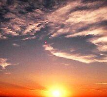 Sunny Sunset by Jocelyn  Emswiler