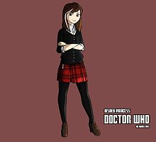 -Doctor who - Clara Oswald (vs Anna - Frozen) by Kurostars