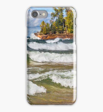 Lake Superior Surf iPhone Case/Skin