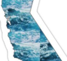 California State Ocean Sticker