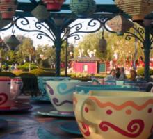 Mad Hatter's Tea Cups - Disneyland Paris Sticker