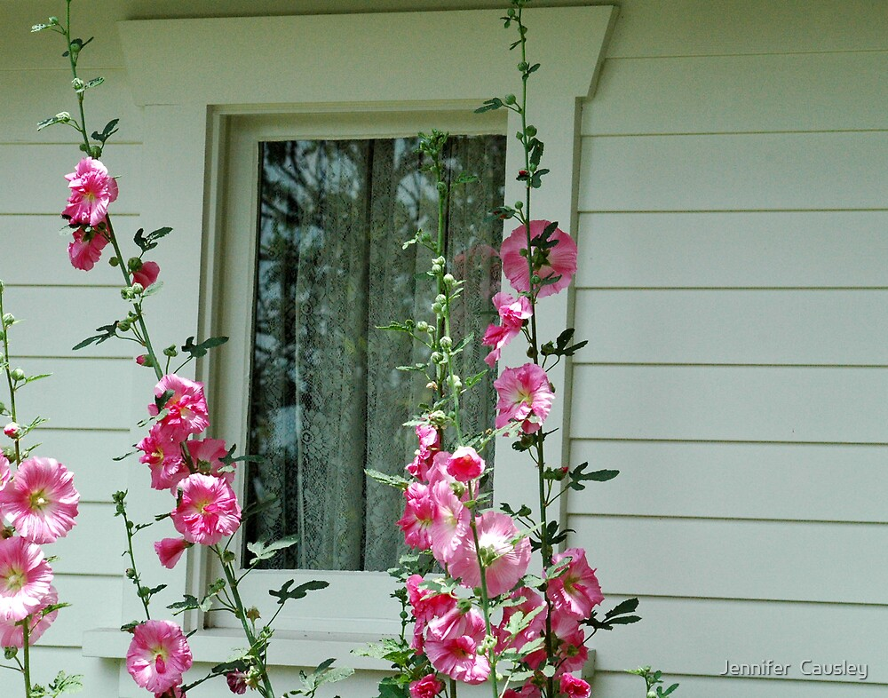 Window to the Past by Jennifer  Causley