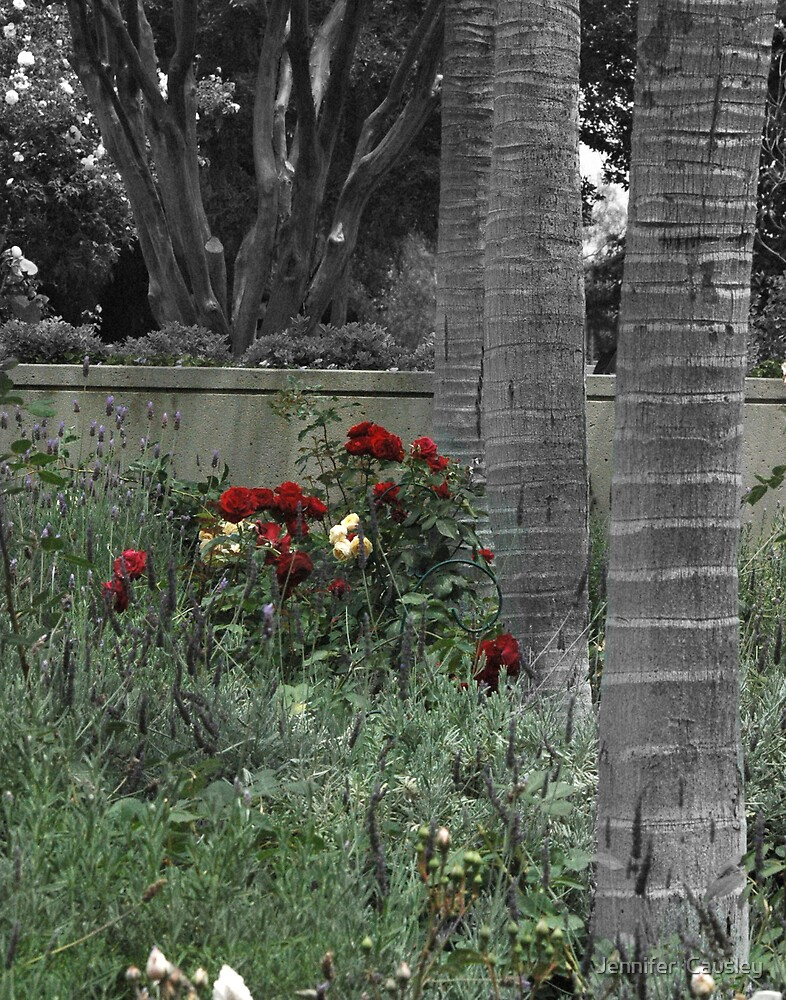 Trees & Flowers by Jennifer  Causley