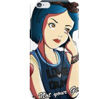 Snow White - Grimace  iPhone Case/Skin