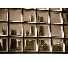 Through a Window darkly Photographic Print