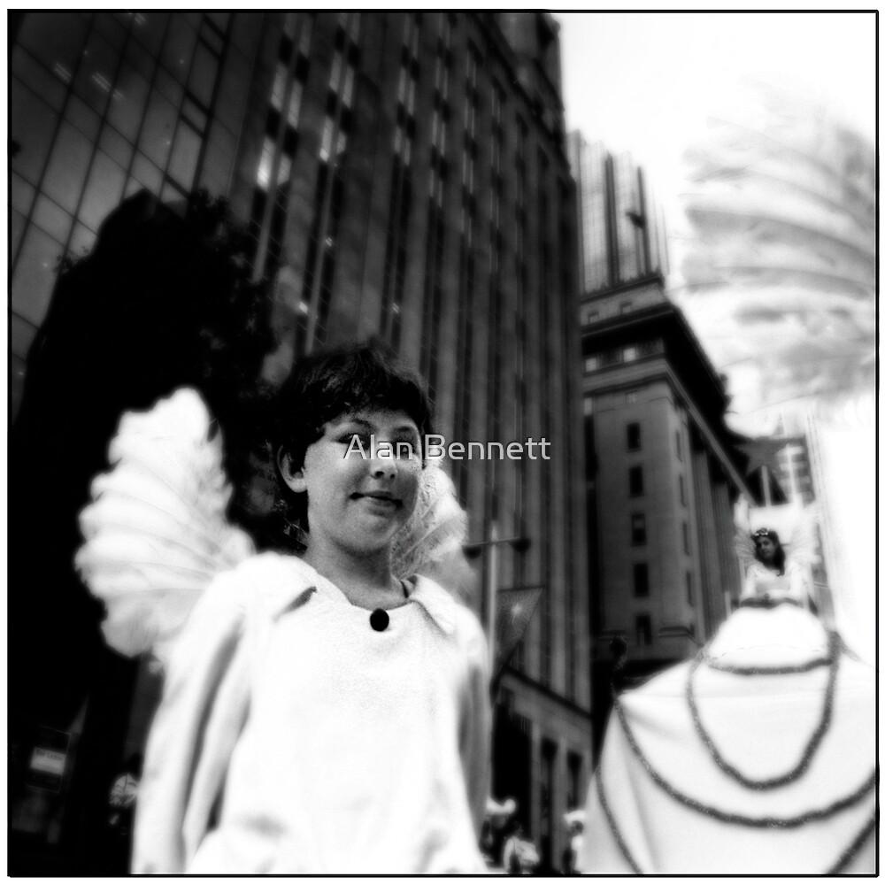Posing Angel by Alan Bennett