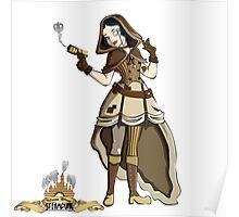 Steampunk Disney Princess - Snow White  Poster