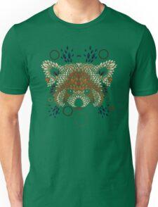 Red Panda Face Unisex T-Shirt